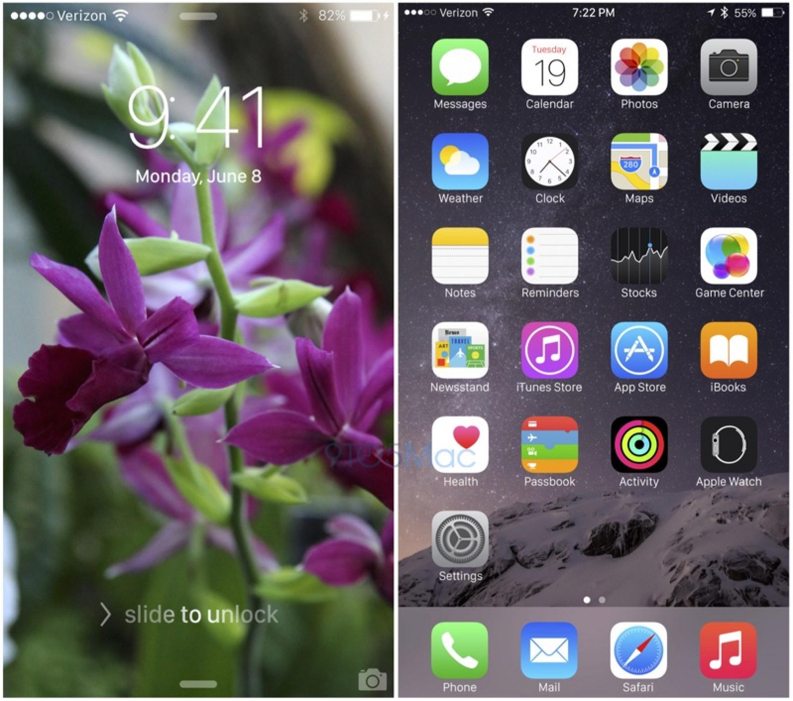 iOS 9 на iPhone