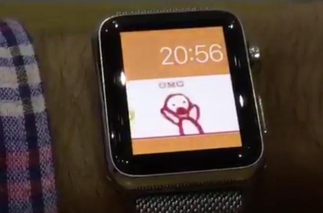 Циферблат на Apple Watch