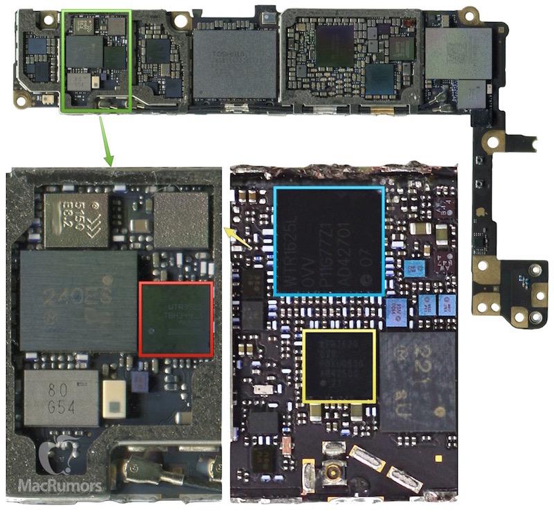 Детали iPhone 6s