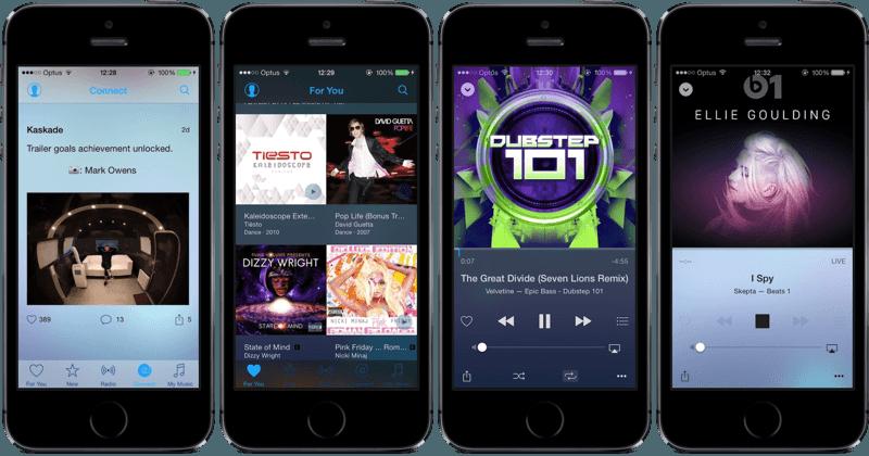 Музыка на iOS 8.4