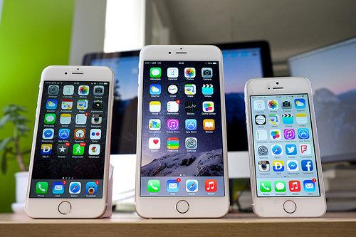 iPhone 6, iPhone 6s и iPhone 5s