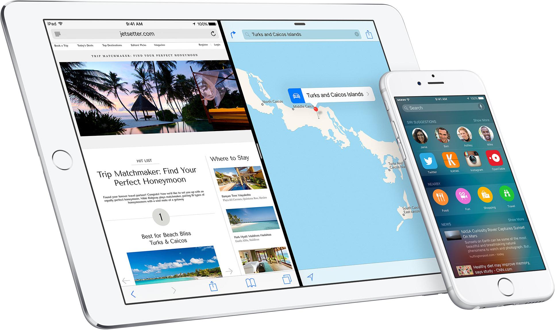 iPad Air, iPhone 6