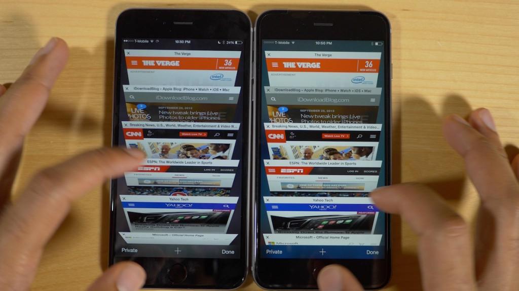 iPhone 6s Plus и iPhone 6 Plus