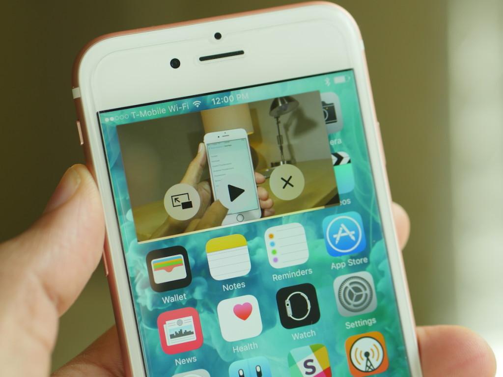 iPhone 6s PiP