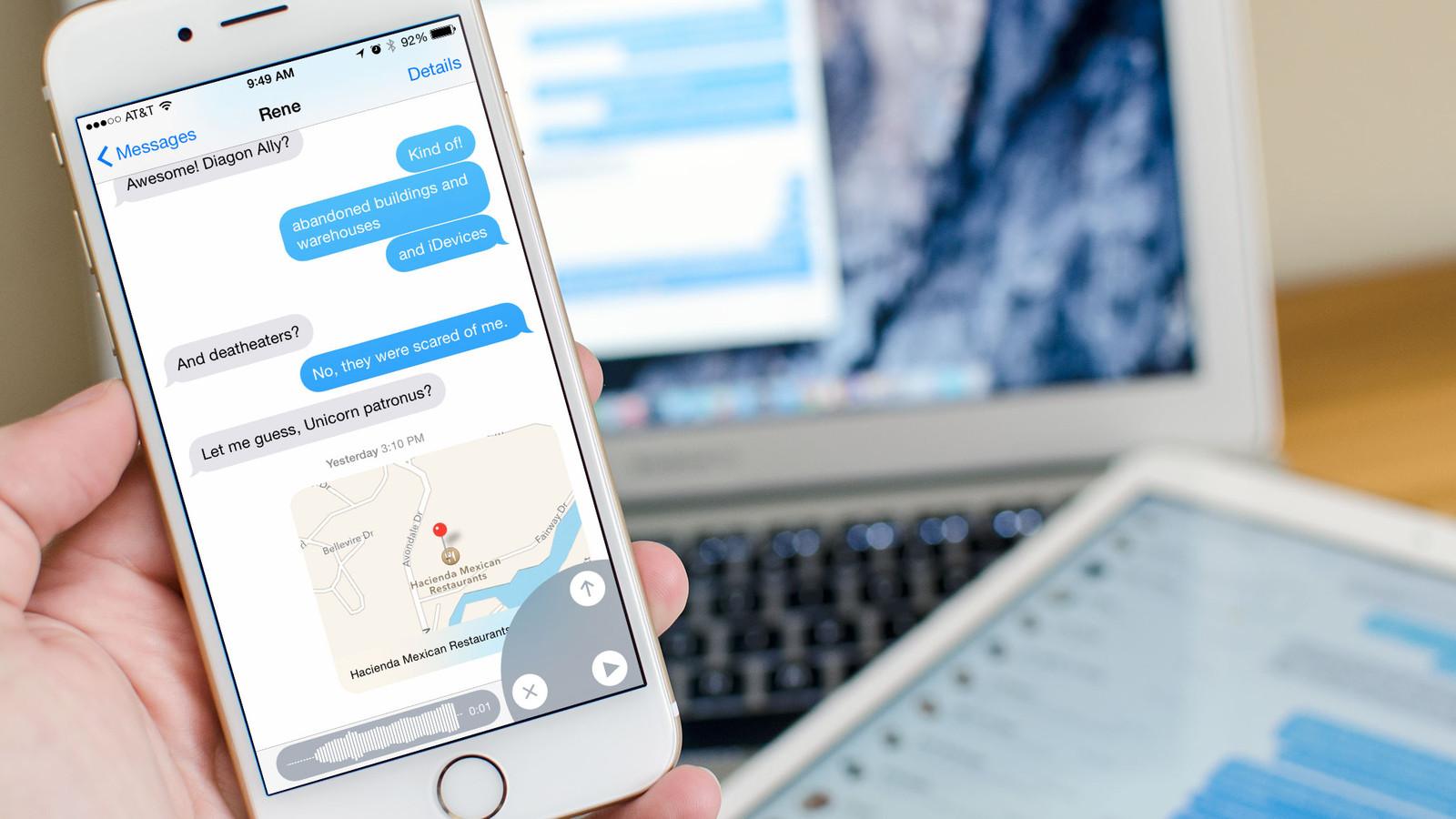 iMessage на iPhone 6s