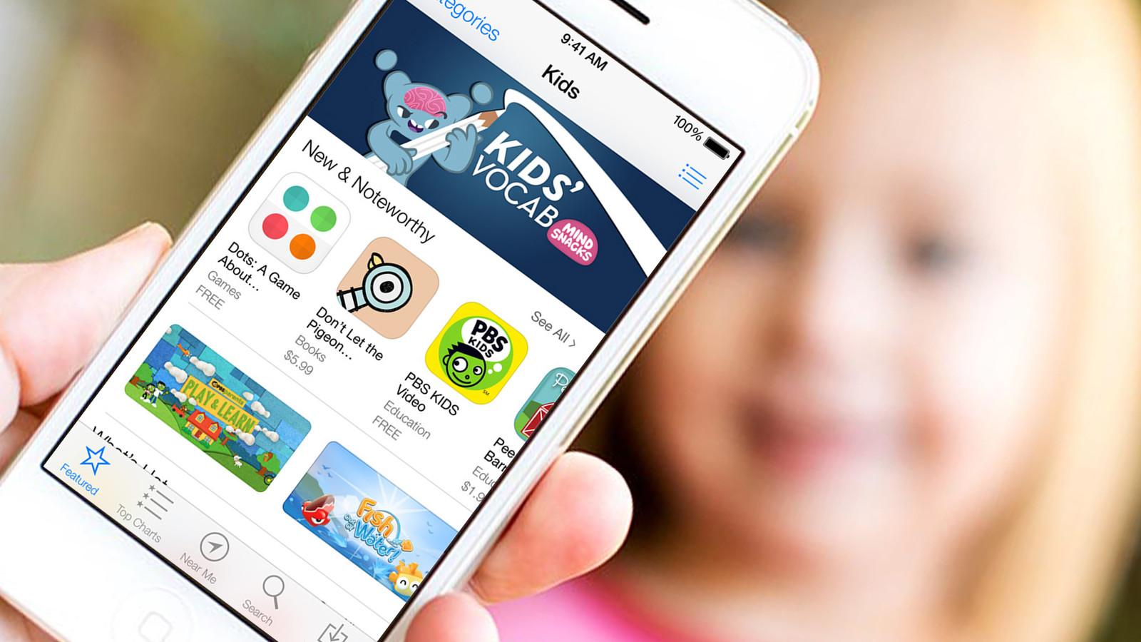 App Store на iPhone 6