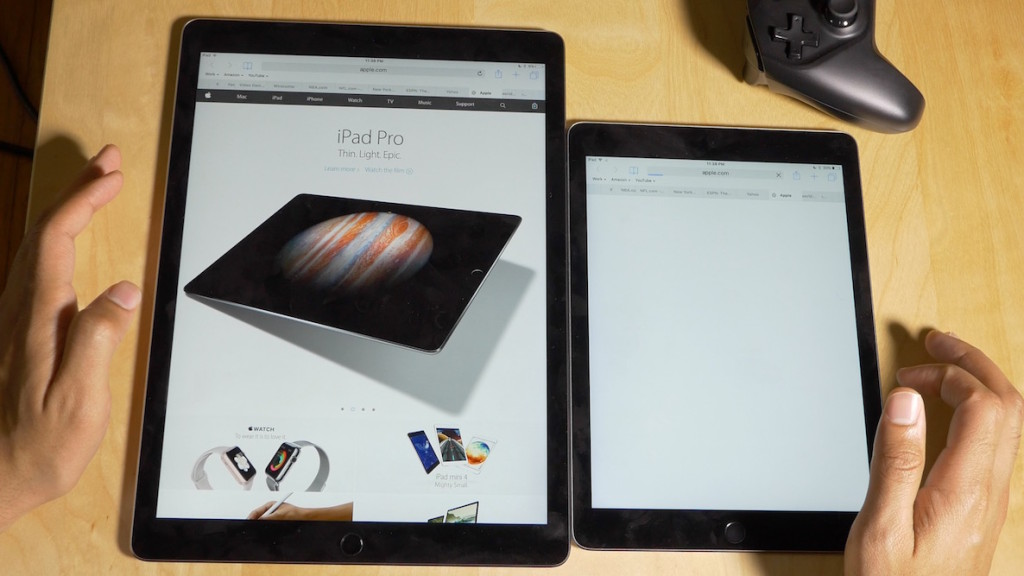 iPad Pro и iPad Air 2