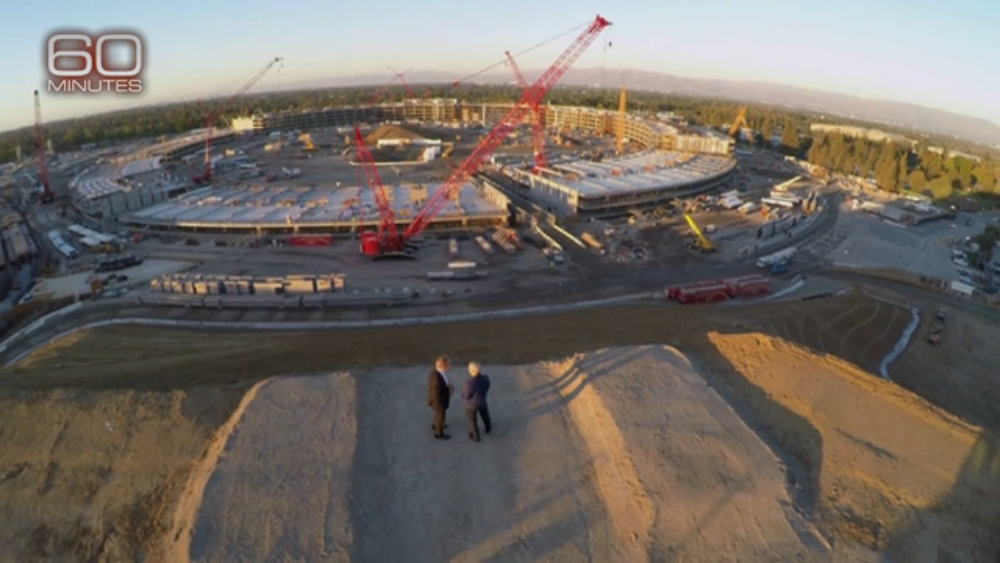 Charlie-Rose-and-Tim-Cook-overlook-Apples-Campus-2