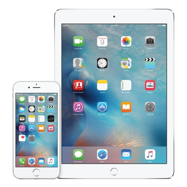 iPhone 6s и iPad Air 2