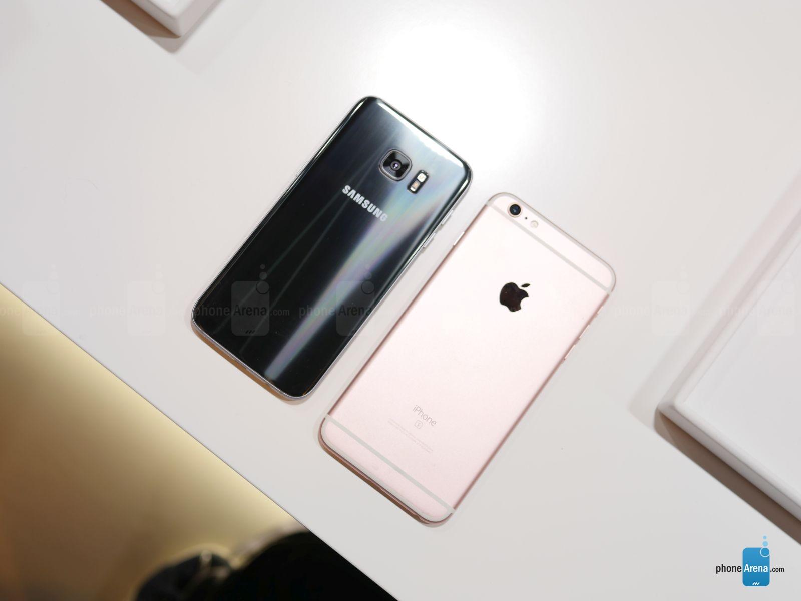 Samsung-Galaxy-S7-edge-vs-Apple-iPhoлдлne-6s-Plus