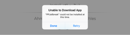 PPJailbreak-unable-to-download-app-iOS-9.3.3-500x135