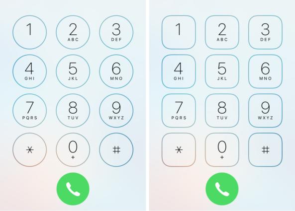 Телефон на iOS 9