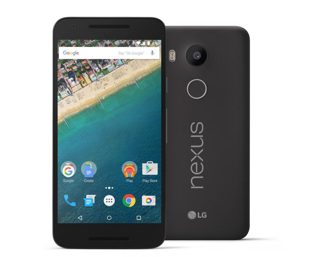 LG Nexus 5X - бюджетный смартфон