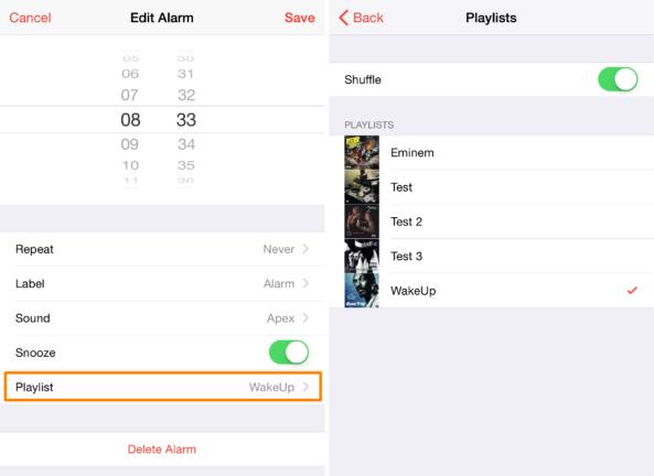 Будильник iOS 9