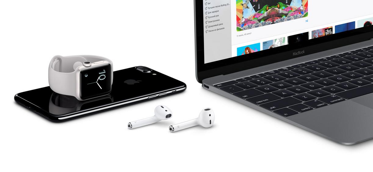Беспроводные Apple AirPods - обзор