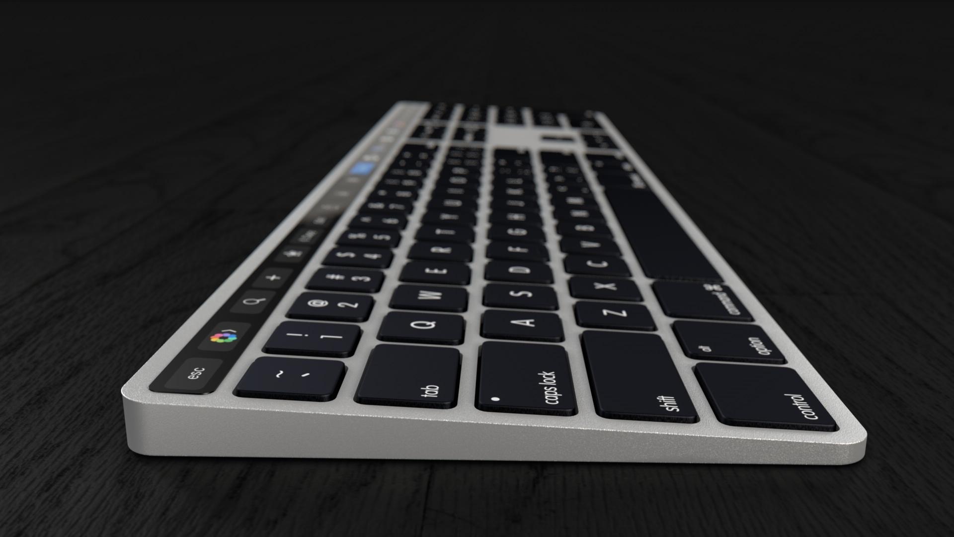Magic Keyboard с Touch Bar