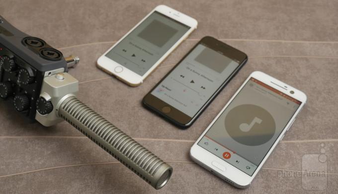 htc 10 vs iphone 7