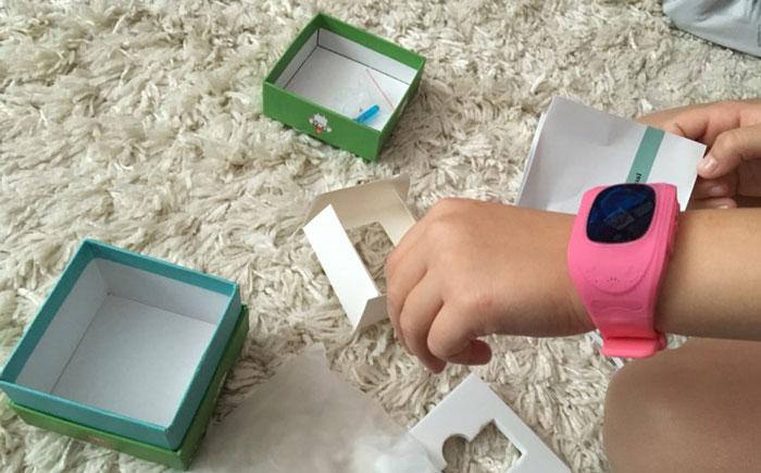 Smart Baby Watch Q50 фото вживую