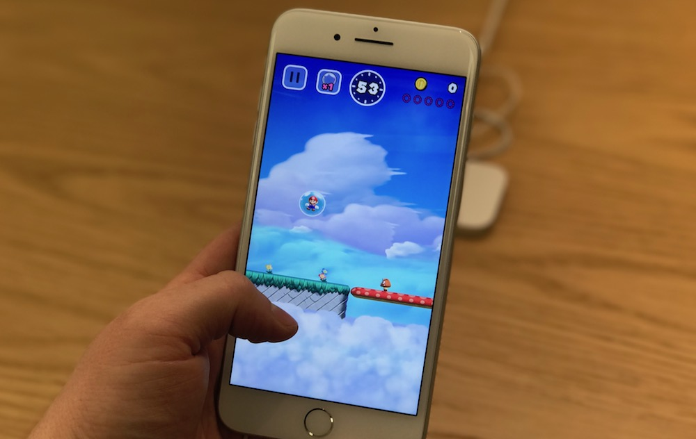 Mario на iOS