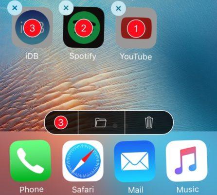 Как удалять и перемещать несколько приложений на iPhone одновременно?