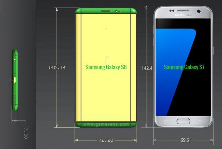 Шпионы запечатлели настоящий Самсунг Galaxy S8