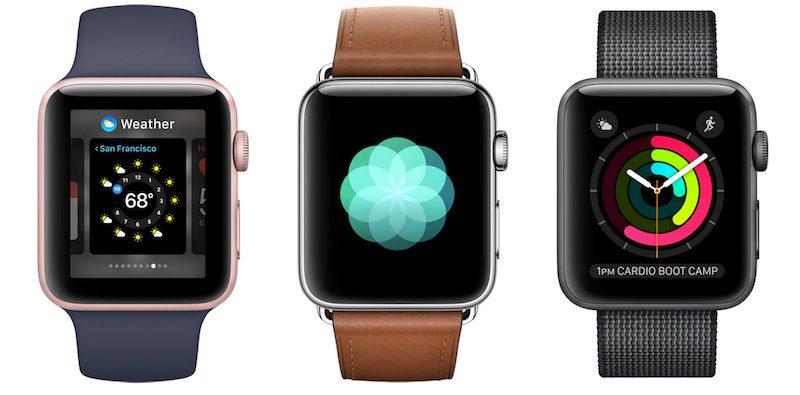 Чего стоит ждать от Apple Watch Series 3?