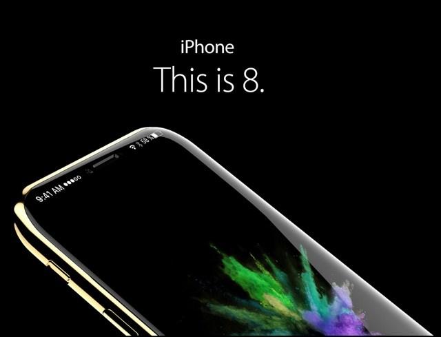 iPhone 8: поддержка Apple Pencil, беспроводная зарядка, Iris Scanner