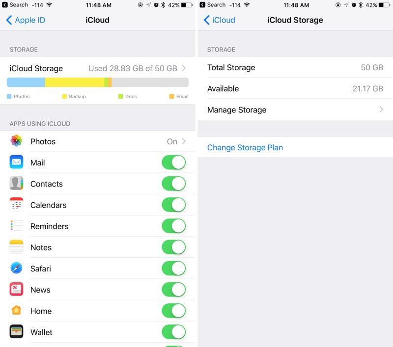 как выгрузить фото из icloud в iphone 5s