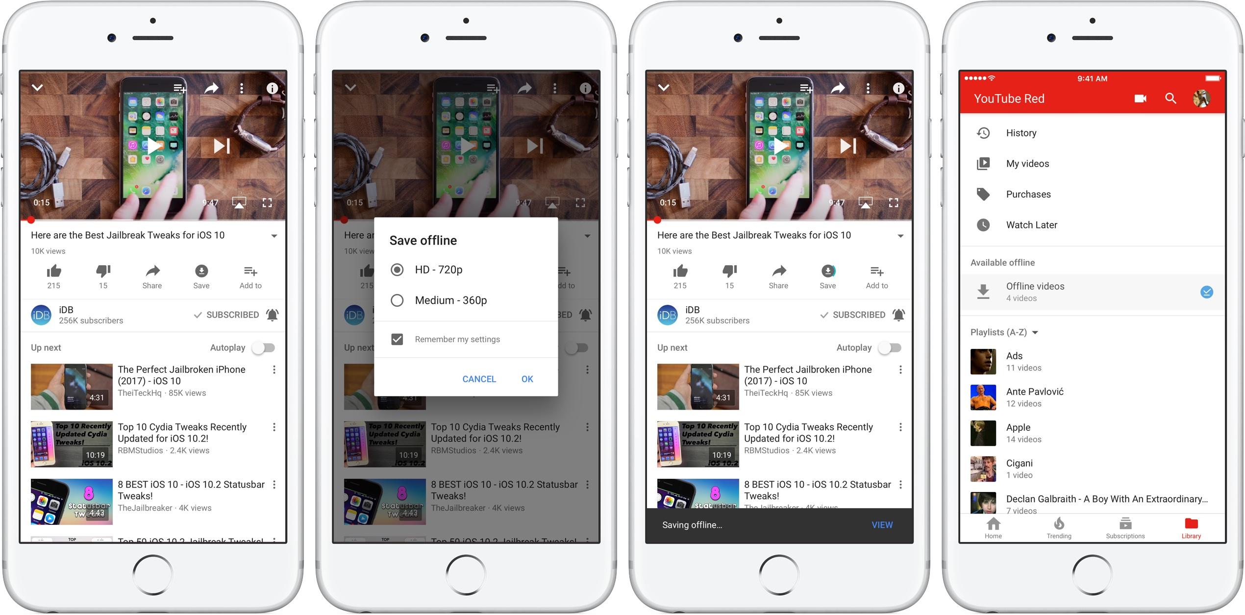 Как загрузить видео с YouTube на iPhone или iPad. Простой способ