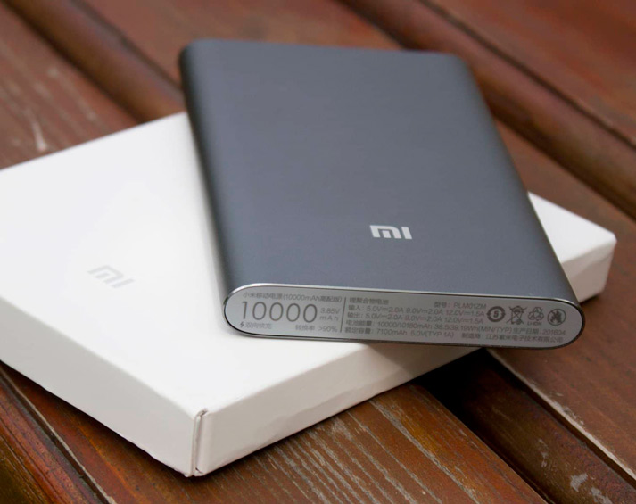 Xiaomi Mi Power Bank 2 10000 мАч