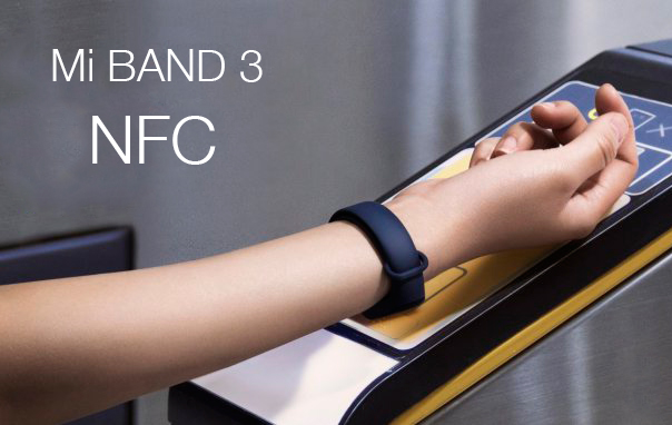 Xiaomi Mi Band 3 с NFC